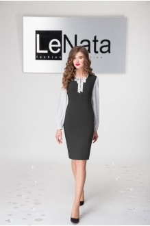 LeNata 21794 чёрный/ белый
