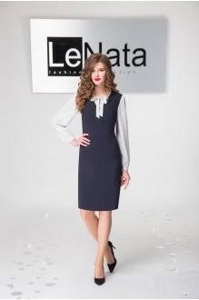 LeNata 21794 т.син/ белый