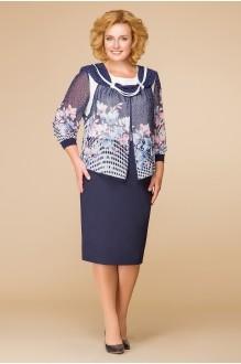 Romanovich Style 1-956 розово-голубые цветы