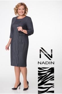 Надин-Н 1412 темно-синий/полоска