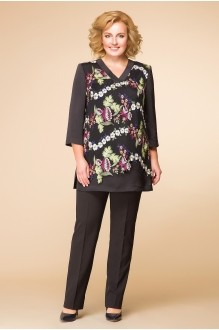 Romanovich Style 2-1558 черный/кружево цветы