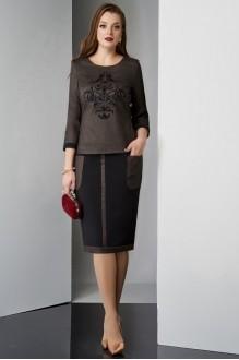 Lissana 3211 чёрно-коричневый