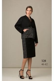 Rosheli 328 черно-белый