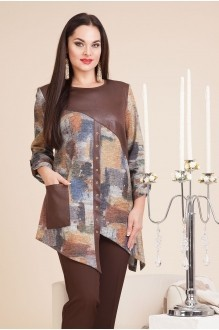 Лилиана 589 коричневый