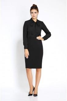 Pirs 207 черная блузка/черная юбка