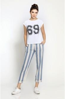 *Распродажа Pirs 153 белая футболка/69