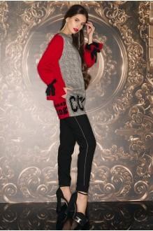 Vesnaletto 1630 серый с красным