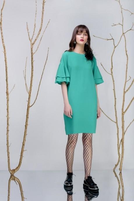 Вечерние платья Prestige 3242 салат