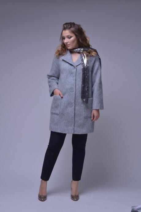 Пальто Prestige 3229 серый