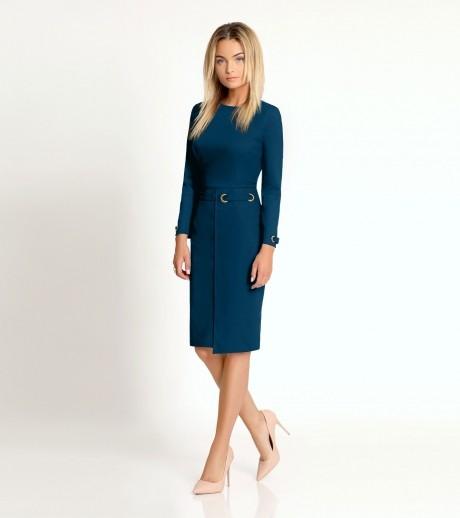 Деловые платья Prio 164980 светло-синий