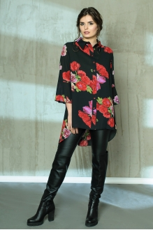 Anna Majewska 1036 красный с розовым