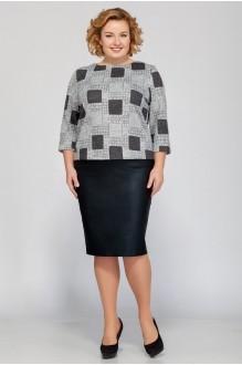 Fashion Lux 1167 серый принт