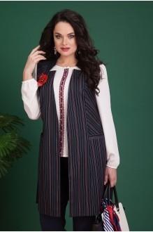 Лилиана 625 жилет+блуза