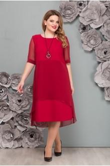 Платье минск бордового