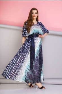 Anastasia 263 темно-синий/бирюза