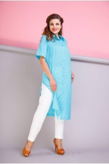 Anastasia 199 голубой/молочный