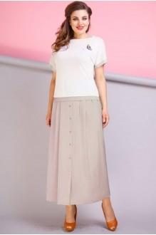 Anastasia 197 молочный/розовый перламутр