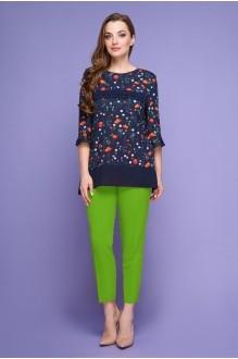 Магия Моды 1380 с зелеными брюками