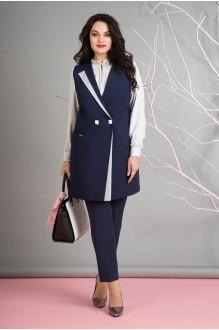 Лилиана 655  жилет+блуза