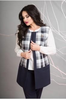 Лилиана 584N жилет+блуза