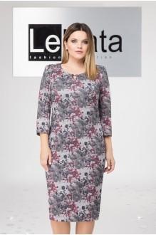 LeNata 12590 серо-розовый