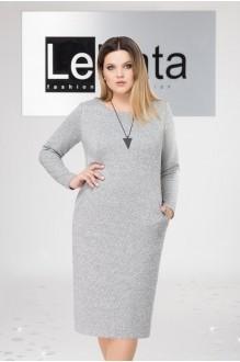 LeNata 11963 светло-серый в черную точку