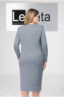 Модель LeNata 11963 серо-синий в черную точку фото 2
