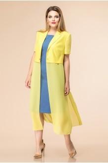 Romanovich Style 3-1668 джинс/жёлтый