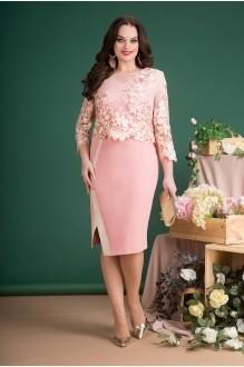 Лилиана 688N нежно розовый (платье+жакет)