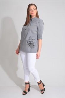 Ладис Лайн 1054 серый+белый