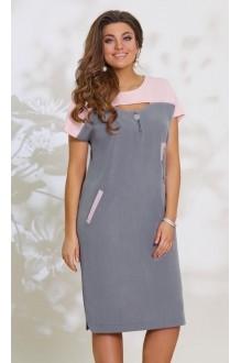 Vittoria Queen 8123 серый с розовым