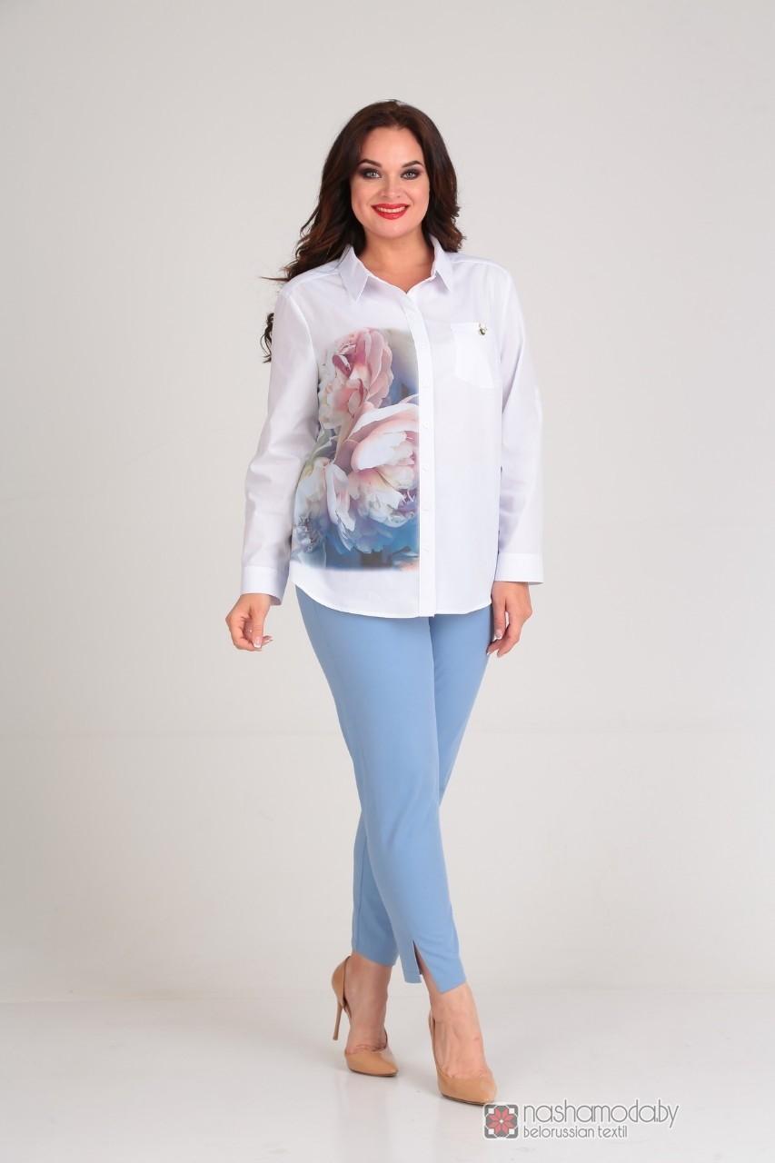 Модель Diomant 1437 с голубыми брюками
