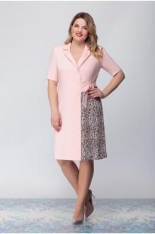 Надин-Н 1635 розовый +леопард