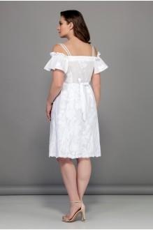 Модель Bagira 553 белый/принт цветок фото 2