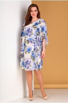 Лиона-Стиль 700 синие цветы