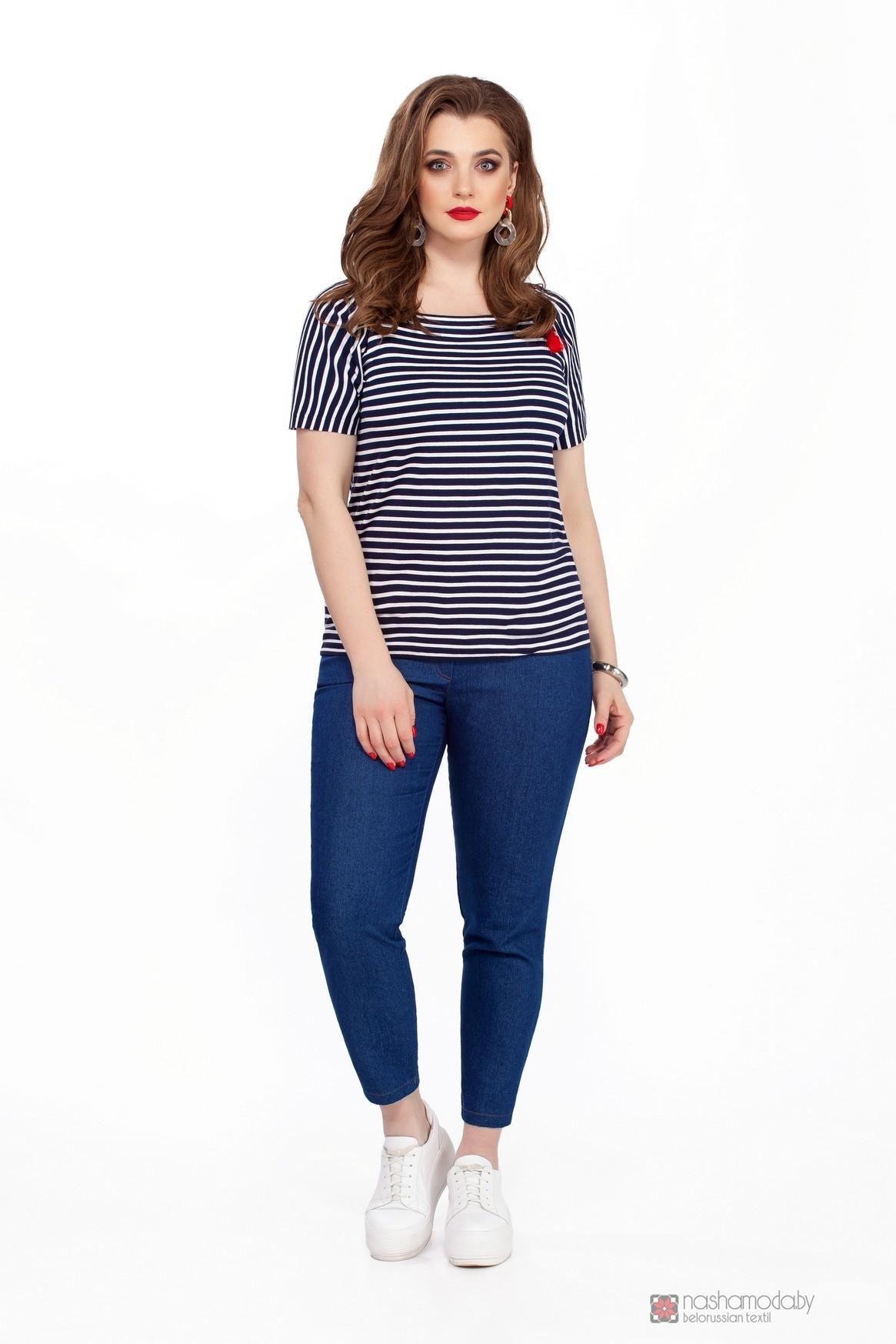 Модель TEZA 204 синие брюки