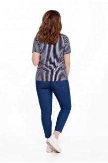 Модель TEZA 204 синие брюки фото 2