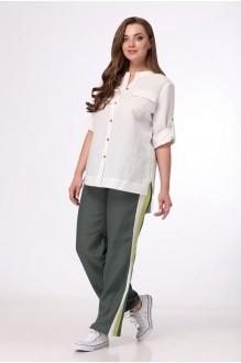 MALI 723 белый/зелёный
