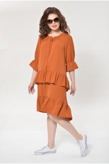 Платье MALI 499 сиена фото 5