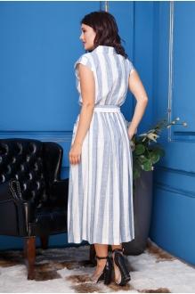 Модель Anastasia 304 голубая полоска фото 3