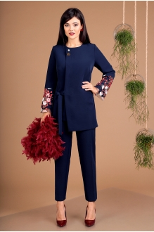 Мода-Юрс 2462 синий + бордо