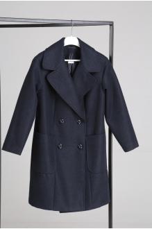 Куртка, пальто, плащ Анастасия Мак 651 синий фото 5