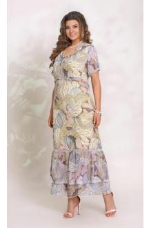 *Распродажа Vittoria Queen 9063 желтый (цветочный принт)