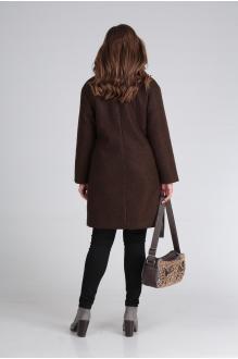 Куртка, пальто, плащ Анастасия Мак 651 коричневый фото 5