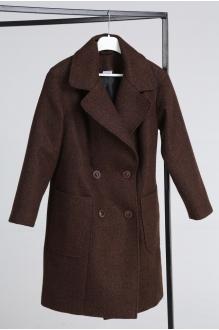 Куртка, пальто, плащ Анастасия Мак 651 коричневый фото 6