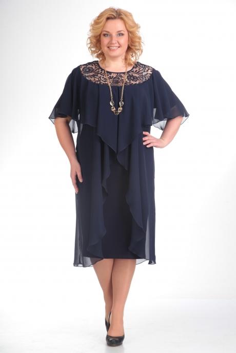 Вечерние платья Прити 168 темно-синий