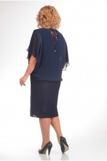 Вечернее платье Прити 148 темно-синий фото 2