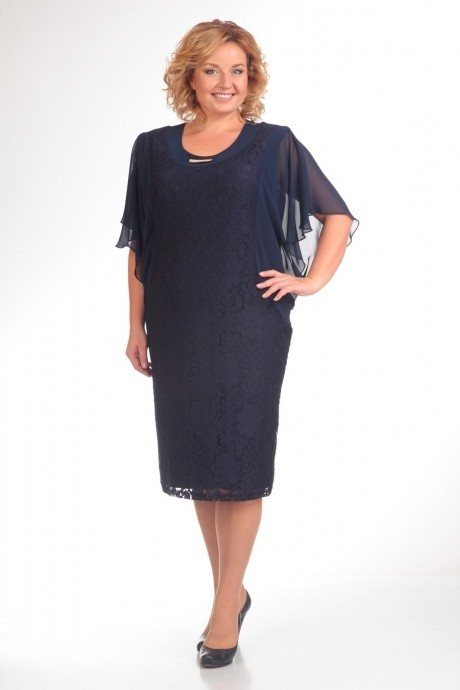 Вечернее платье Прити 148 темно-синий
