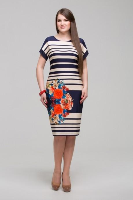 Вечернее платье Matini 3.791 короткий рукав