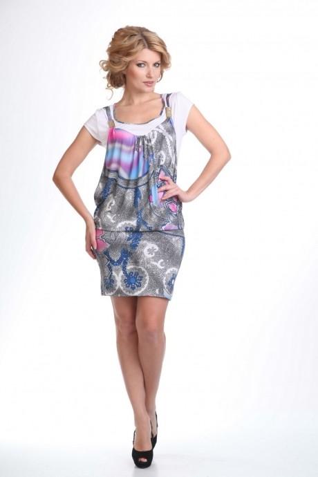 Летнее платье Лиона-Стиль 399 узор